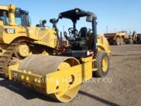 CATERPILLAR VIBRATORY SINGLE DRUM PAD CS44B equipment  photo 4