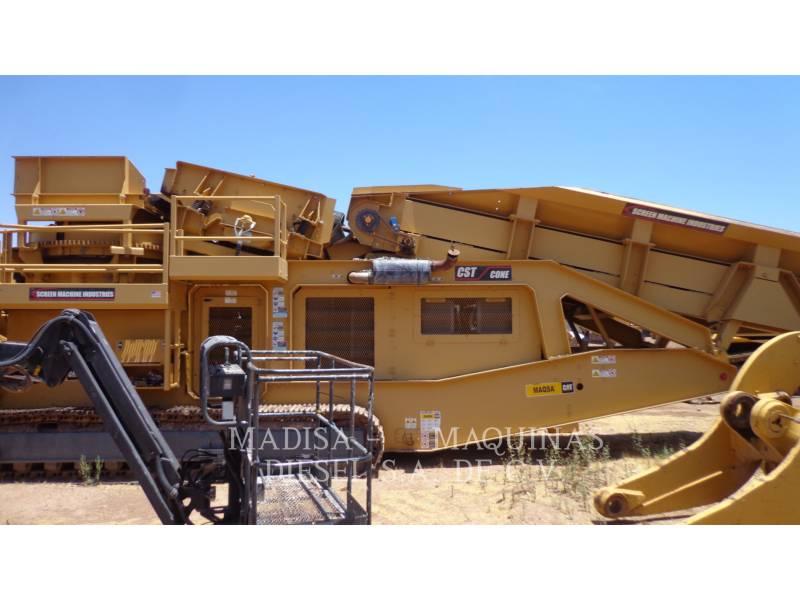 SCREEN MACHINE CHIPPER, HORIZONTAL CST equipment  photo 3