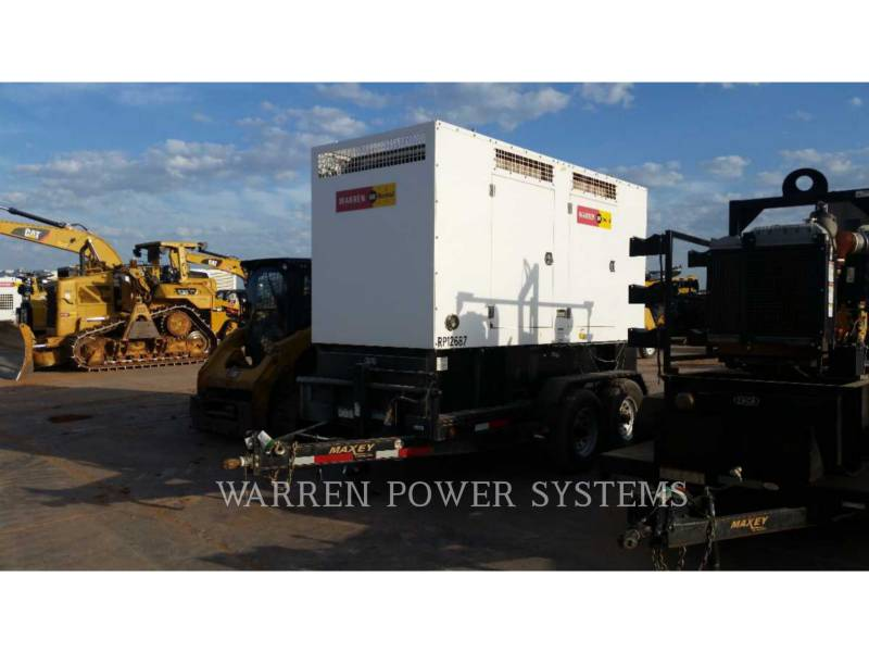 NORAM PORTABLE GENERATOR SETS N150 equipment  photo 1