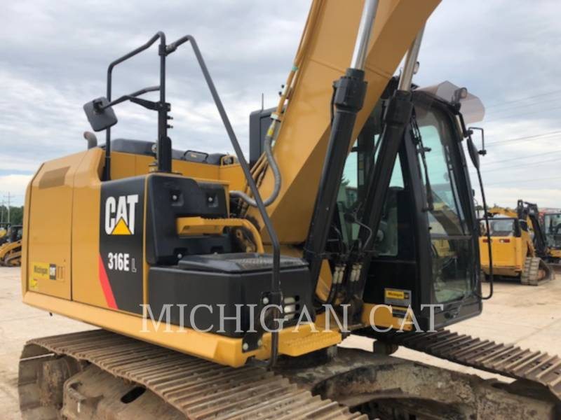 CATERPILLAR EXCAVADORAS DE CADENAS 316EL PQ28 equipment  photo 6