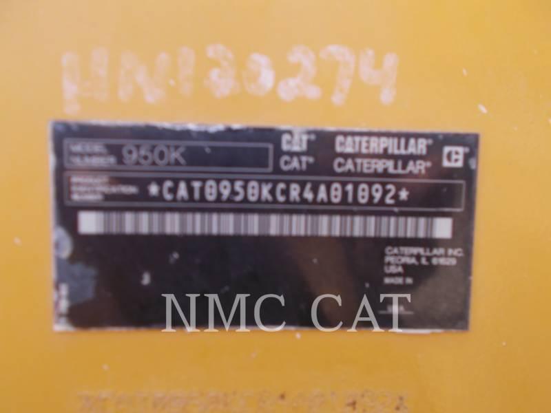 Caterpillar ÎNCĂRCĂTOARE PE ROŢI/PORTSCULE INTEGRATE 950K equipment  photo 1