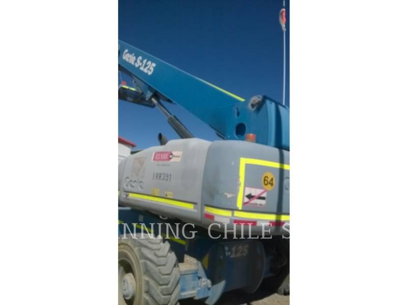 GENIE INDUSTRIES LEVANTAMIENTO - PLUMA S125 equipment  photo 3