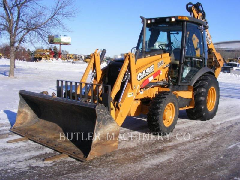 CASE/NEW HOLLAND CHARGEUSES-PELLETEUSES 580 SUPER N WT equipment  photo 1