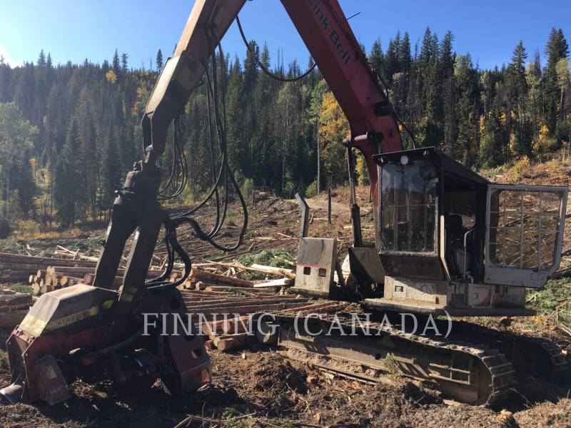 LINK-BELT CONST. FORESTRY - PROCESSOR 210LX equipment  photo 3