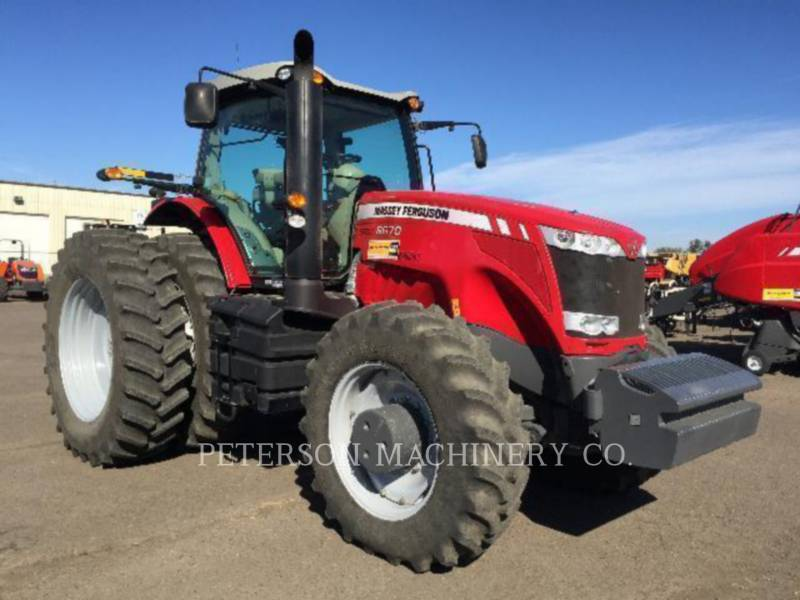 AGCO-MASSEY FERGUSON LANDWIRTSCHAFTSTRAKTOREN MF8670 equipment  photo 2