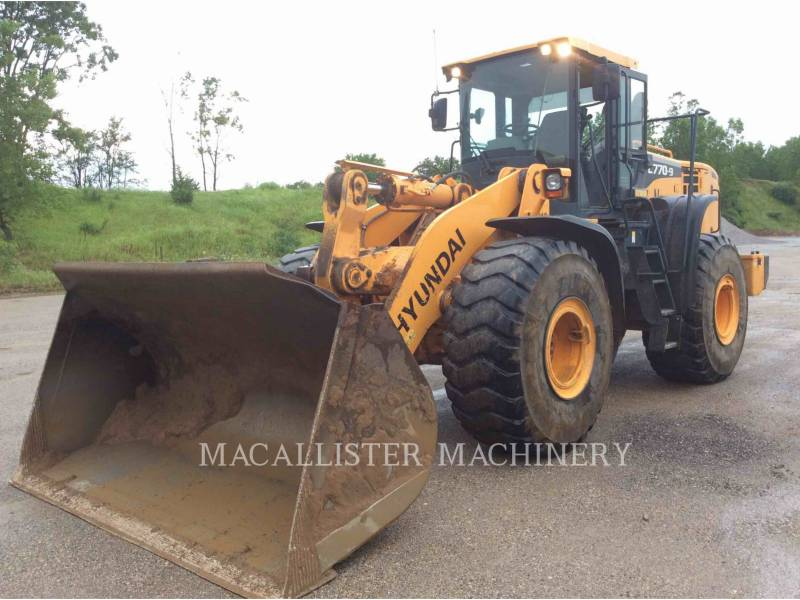 HYUNDAI WHEEL LOADERS/INTEGRATED TOOLCARRIERS HL770-9 equipment  photo 1