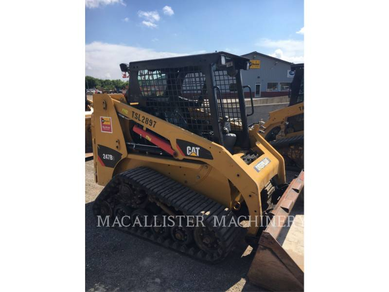 CATERPILLAR CARGADORES MULTITERRENO 247B3 equipment  photo 2