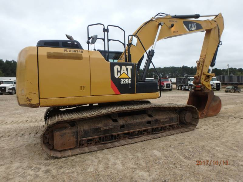 CATERPILLAR KETTEN-HYDRAULIKBAGGER 329EL equipment  photo 4