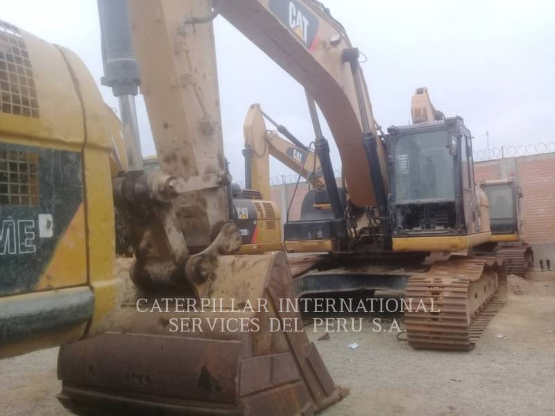 CATERPILLAR PELLES SUR CHAINES 329 D L ME equipment  photo 1