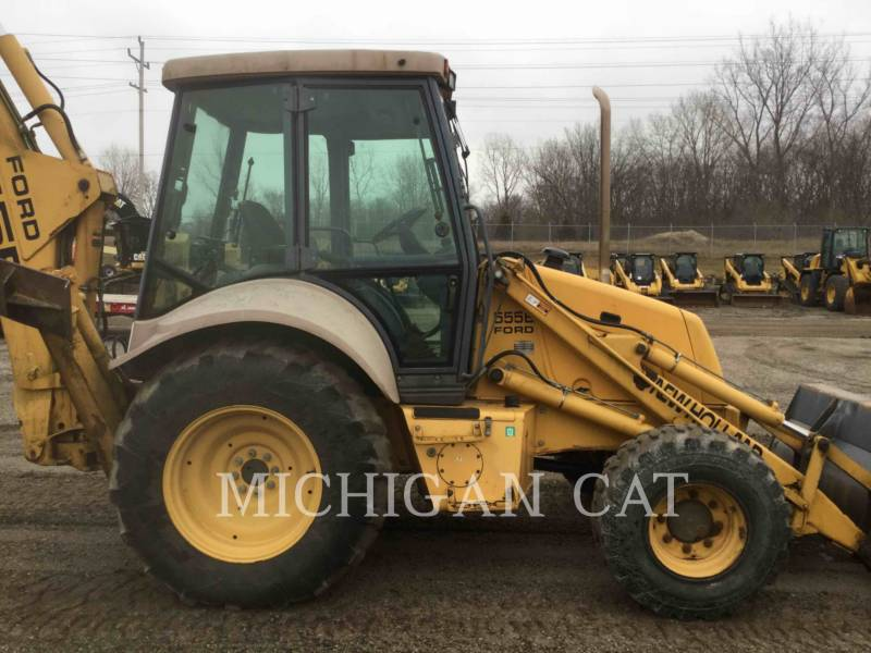 FORD / NEW HOLLAND BACKHOE LOADERS 555E equipment  photo 4