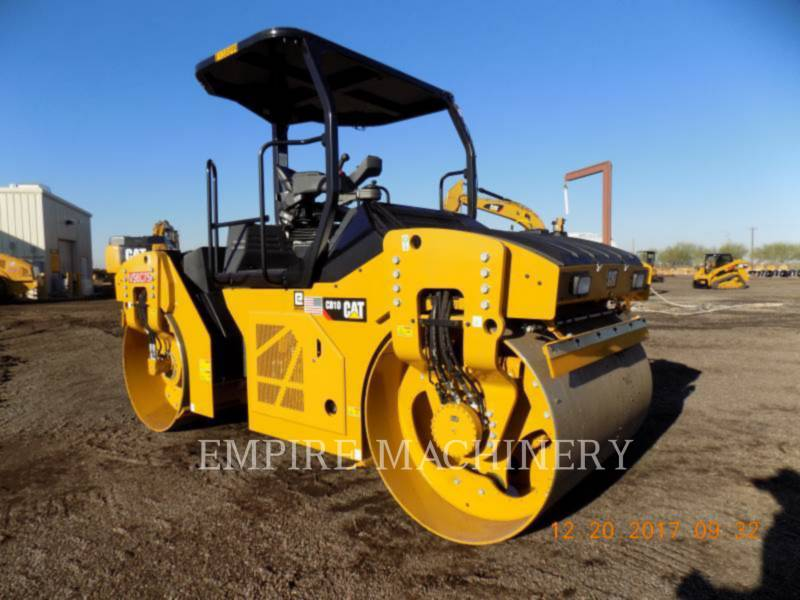 CATERPILLAR TANDEMVIBRATIONSWALZE, ASPHALT CB10 equipment  photo 1