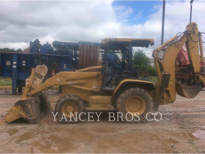 CATERPILLAR SKID STEER LOADERS 416D equipment  photo 2