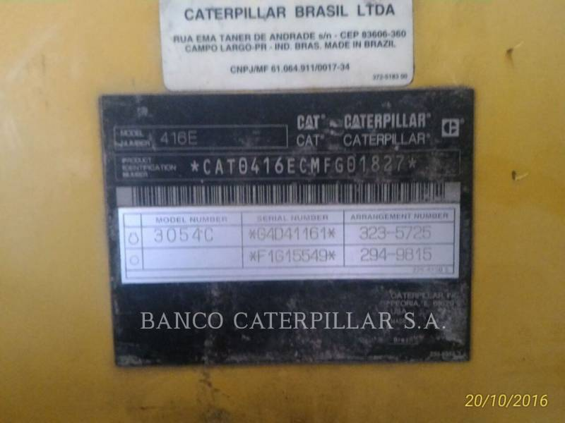CATERPILLAR RETROEXCAVADORAS CARGADORAS 416EST equipment  photo 5