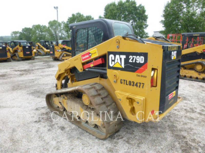 CATERPILLAR TRACK LOADERS 279D CB equipment  photo 5