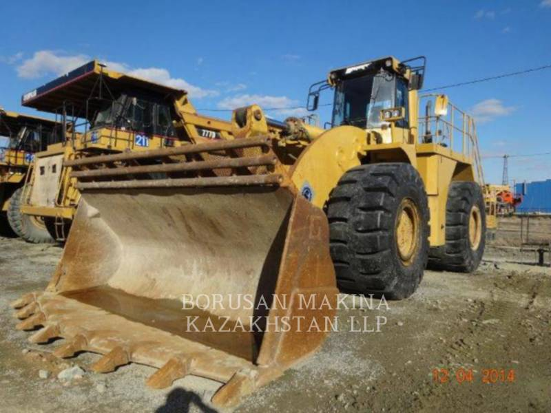 CATERPILLAR BERGBAU-RADLADER 990 equipment  photo 1