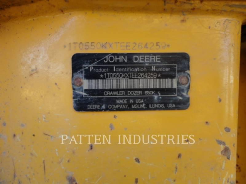 JOHN DEERE TRACTORES DE CADENAS 550K XLT equipment  photo 8