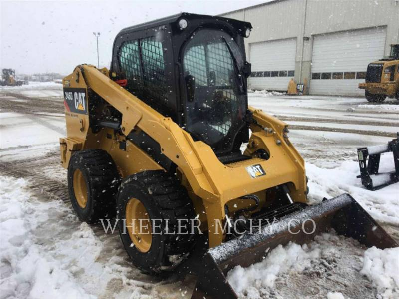 CATERPILLAR CHARGEURS COMPACTS RIGIDES 246D C3HF2 equipment  photo 2