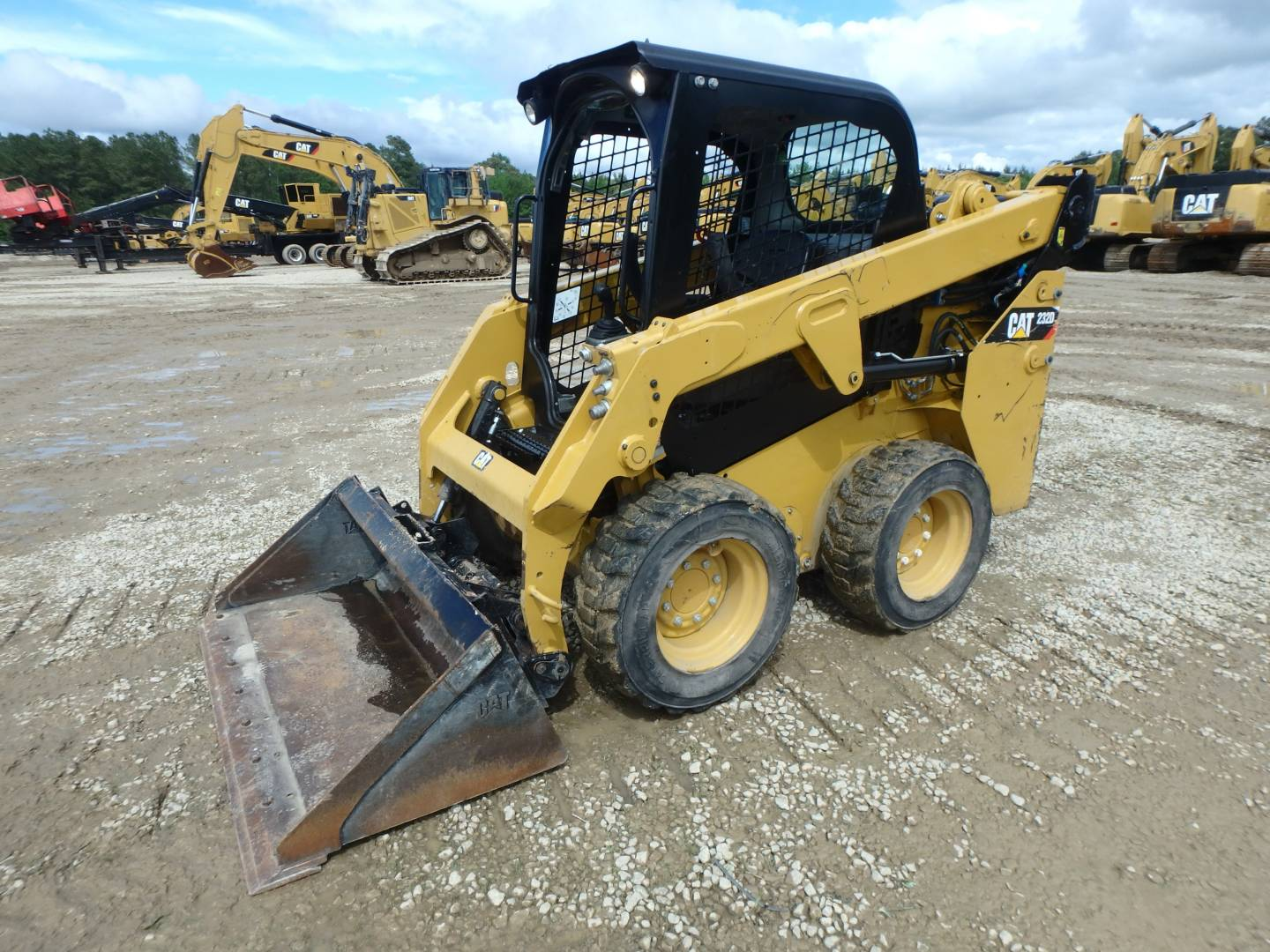 Used 2016 Caterpillar 232d For Sale Whayne Cat