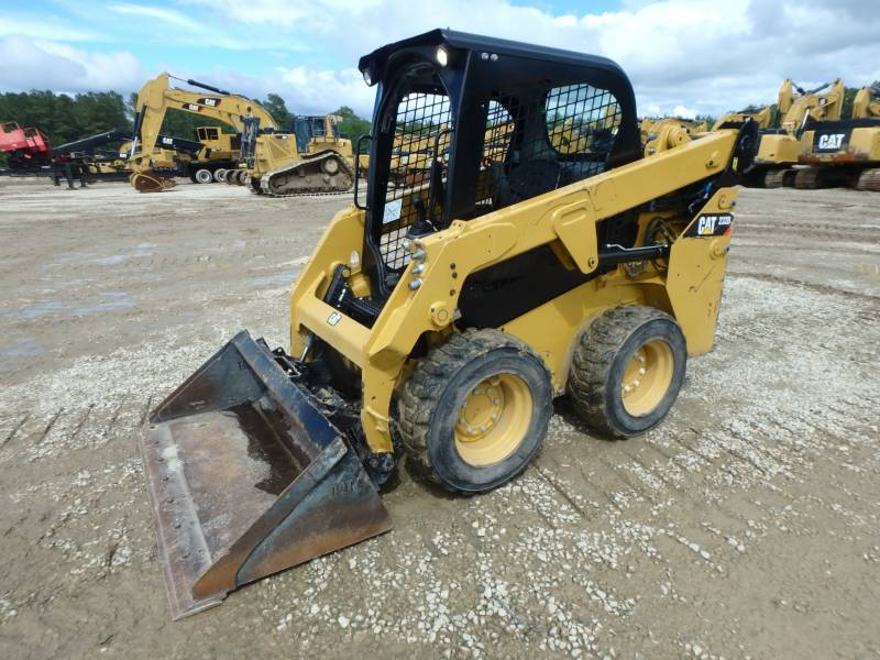 CATERPILLAR SKID STEER LOADERS 232D equipment  photo 5