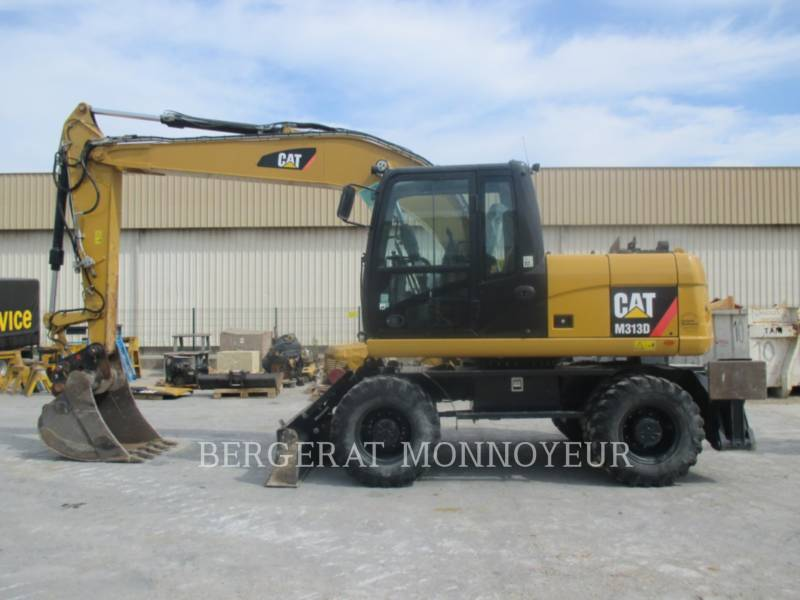 CATERPILLAR ESCAVATORI GOMMATI M313D equipment  photo 7