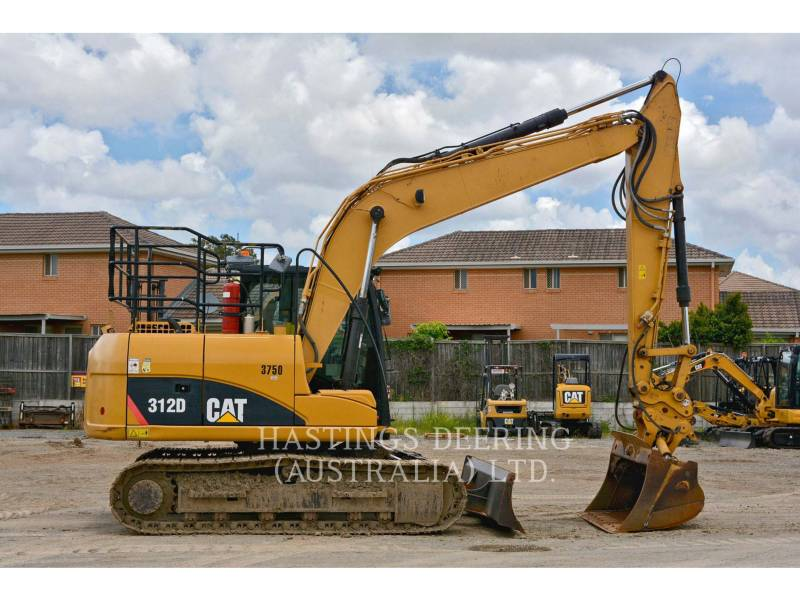 CATERPILLAR PELLES SUR CHAINES 312D equipment  photo 5