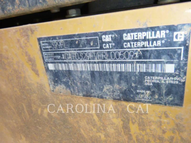 CATERPILLAR EXCAVADORAS DE CADENAS 329FL equipment  photo 12