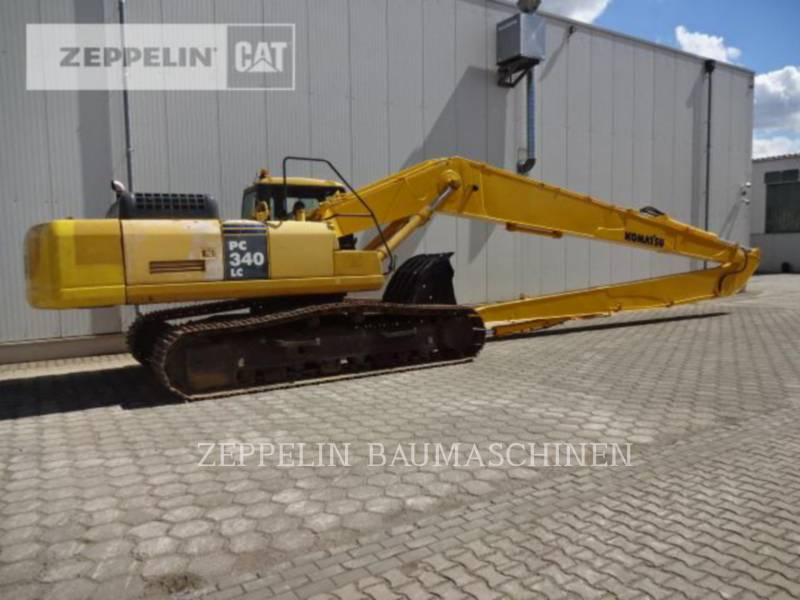 KOMATSU LTD. TRACK EXCAVATORS PC340NLC equipment  photo 3