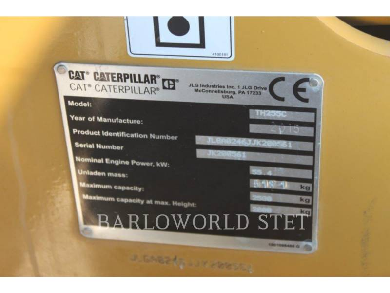 CATERPILLAR TELESKOPSTAPLER TH255C equipment  photo 8