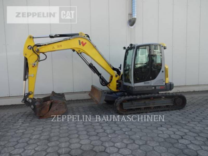 WACKER CORPORATION KETTEN-HYDRAULIKBAGGER EZ80 equipment  photo 2