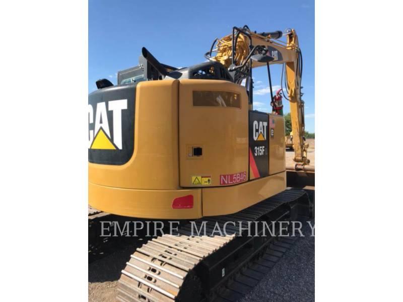 CATERPILLAR トラック油圧ショベル 315FLCR equipment  photo 5
