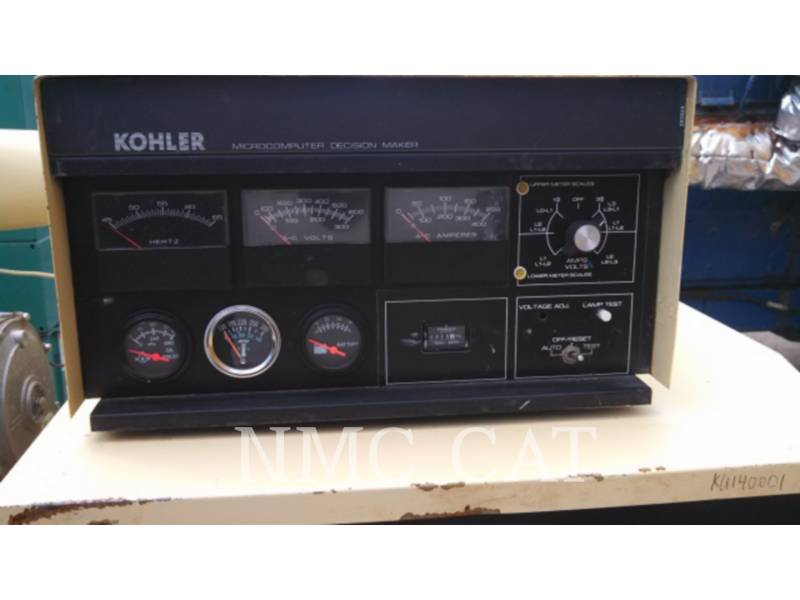 KOHLER STATIONARY GENERATOR SETS 100RZ282 equipment  photo 1