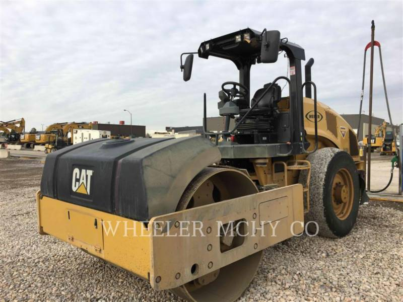 CATERPILLAR COMPATTATORE PER ASFALTO A SINGOLO TAMBURO VIBRANTE CS54B C110 equipment  photo 1