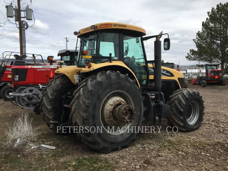 AGCO AG TRACTORS MT665B equipment  photo 5
