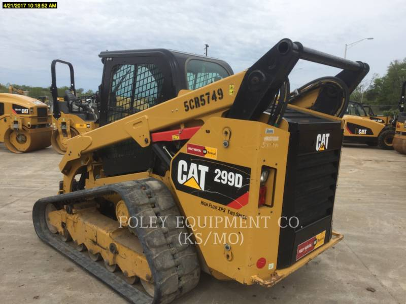 CATERPILLAR CHARGEURS COMPACTS RIGIDES 299DXPS2CA equipment  photo 4