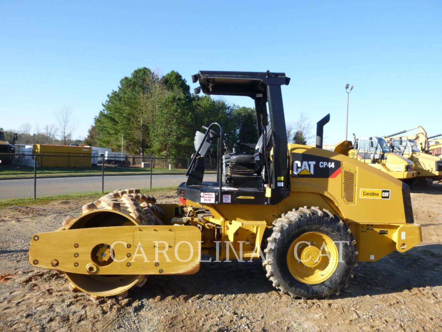 Detail photo of 2014 Caterpillar CP44 from Construction Equipment Guide