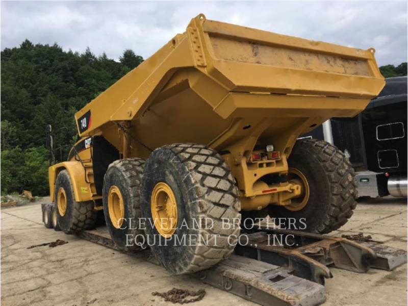 CATERPILLAR ARTICULATED TRUCKS 740 equipment  photo 4