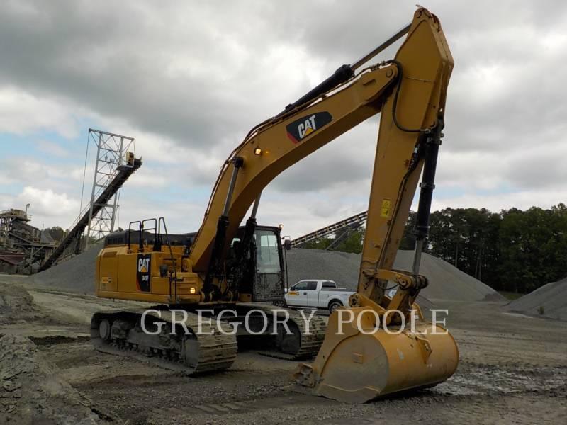 CATERPILLAR PELLES SUR CHAINES 349F L equipment  photo 4