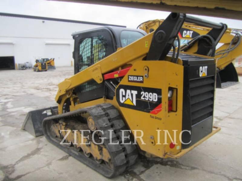 CATERPILLAR CARGADORES MULTITERRENO 299DS equipment  photo 5