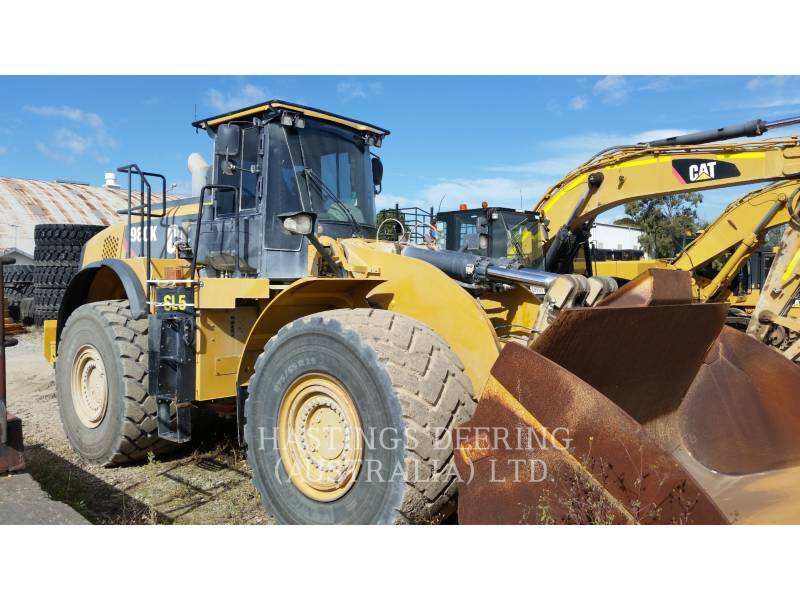 CATERPILLAR BERGBAU-RADLADER 980K equipment  photo 2