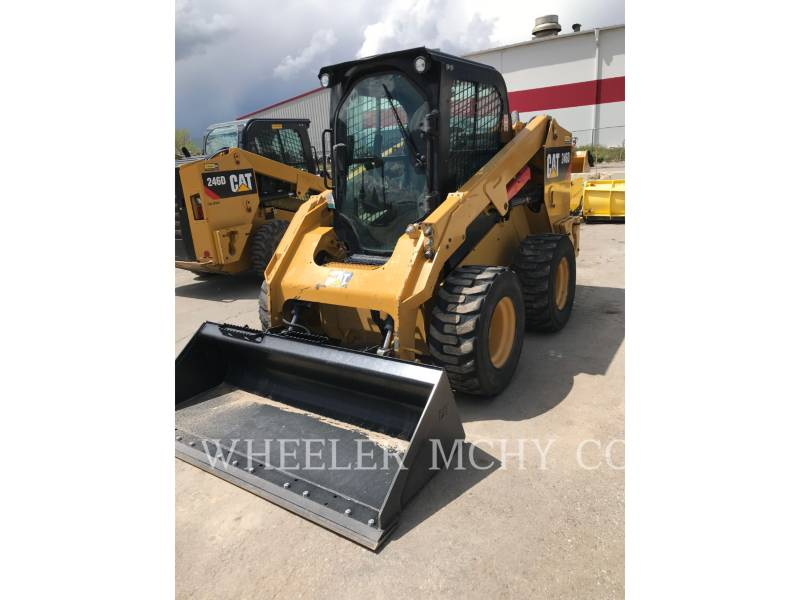 CATERPILLAR SKID STEER LOADERS 246D C3 2S equipment  photo 5