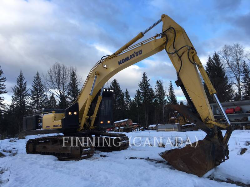 KOMATSU FORESTAL - EXCAVADORA PC300 equipment  photo 2