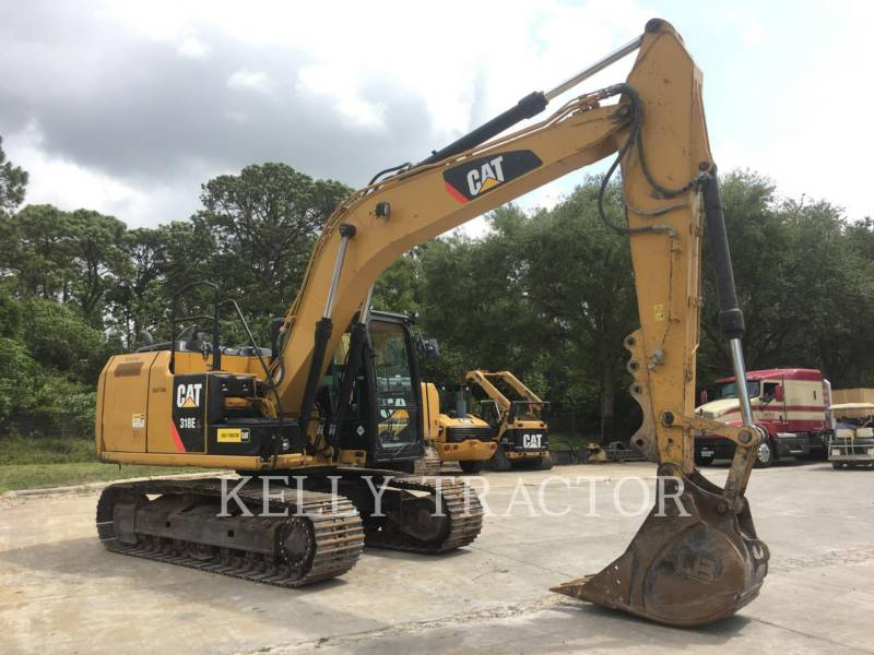 CATERPILLAR トラック油圧ショベル 318EL equipment  photo 8