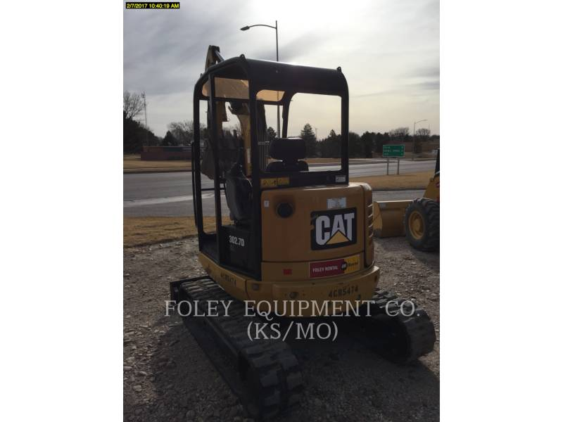 CATERPILLAR TRACK EXCAVATORS 302.7DCRLO equipment  photo 4