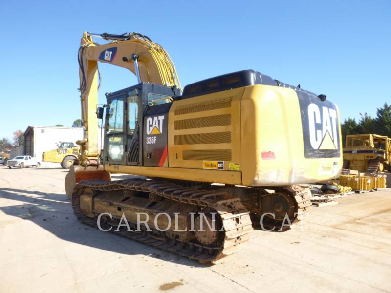 CATERPILLAR TRACK EXCAVATORS 336F QC equipment  photo 2