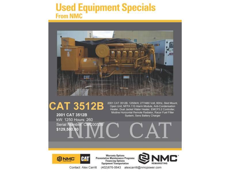 CATERPILLAR 固定式発電装置 3512 equipment  photo 2