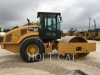 CATERPILLAR EINZELVIBRATIONSWALZE, GLATTBANDAGE CS66B CAB equipment  photo 1