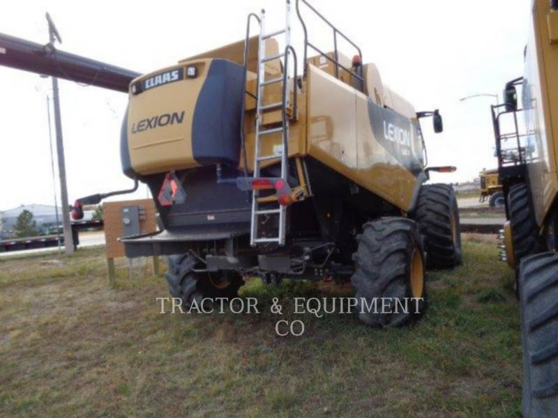 LEXION COMBINE KOMBAJNY LX580R equipment  photo 3