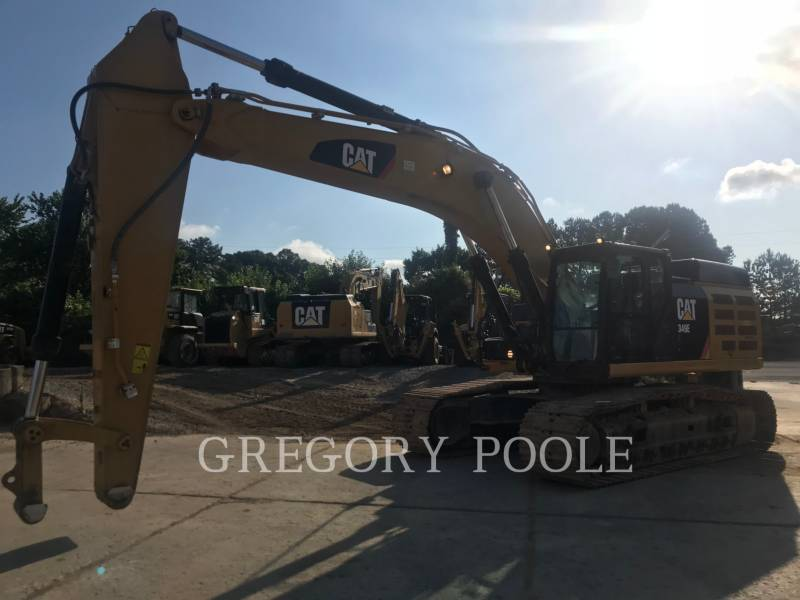 CATERPILLAR KETTEN-HYDRAULIKBAGGER 349E L equipment  photo 5