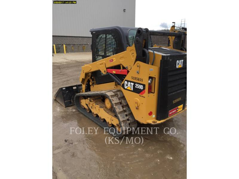 CATERPILLAR MINICARREGADEIRAS 259DSTD2CA equipment  photo 3