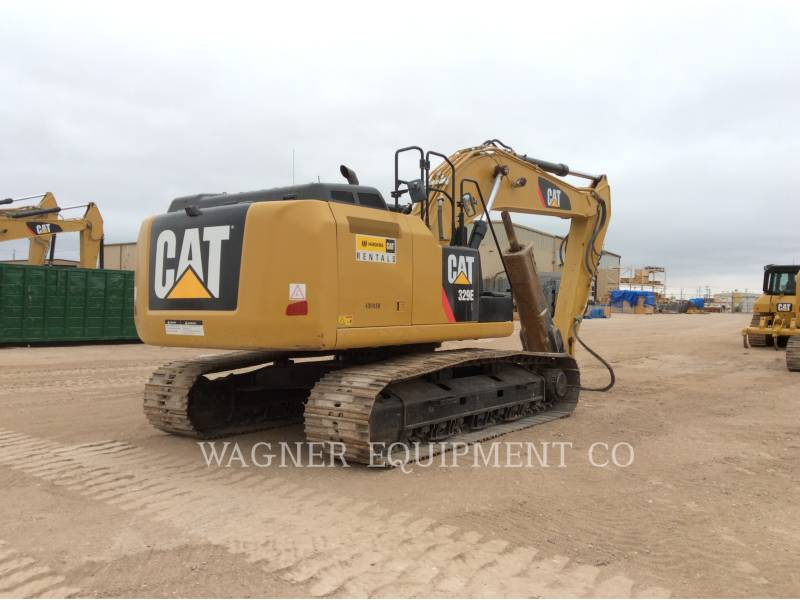 CATERPILLAR TRACK EXCAVATORS 329EL HMR equipment  photo 3